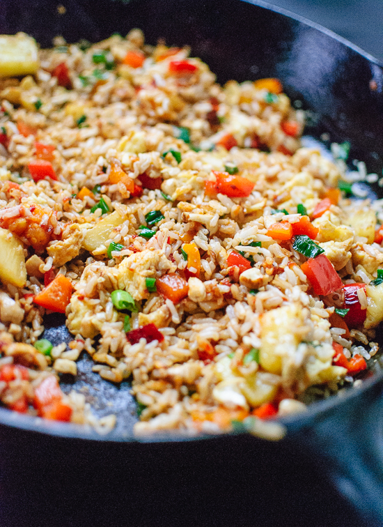 how-to-make-thai-pineapple-fried-rice