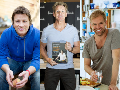 Cooking with Jamie Oliver, Gordon Ramsay and Bill Granger