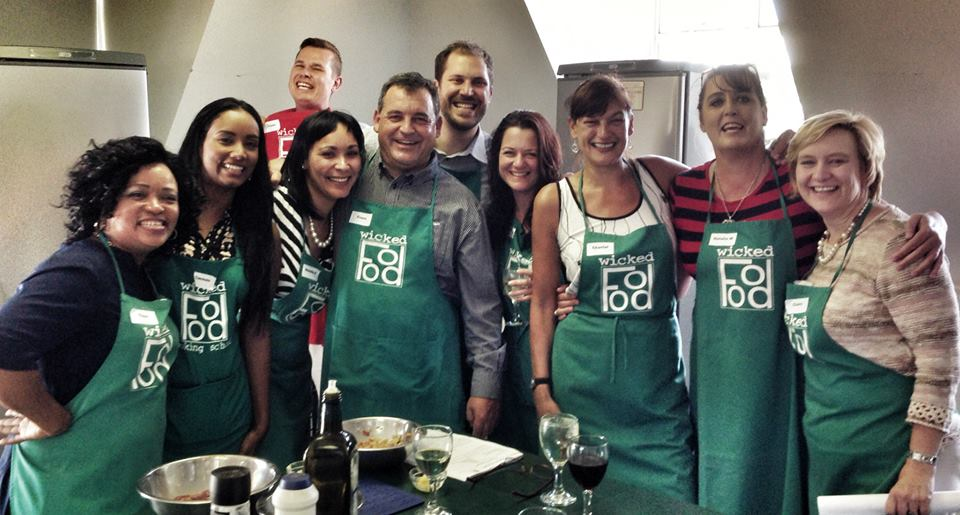 Team building cooking class 2