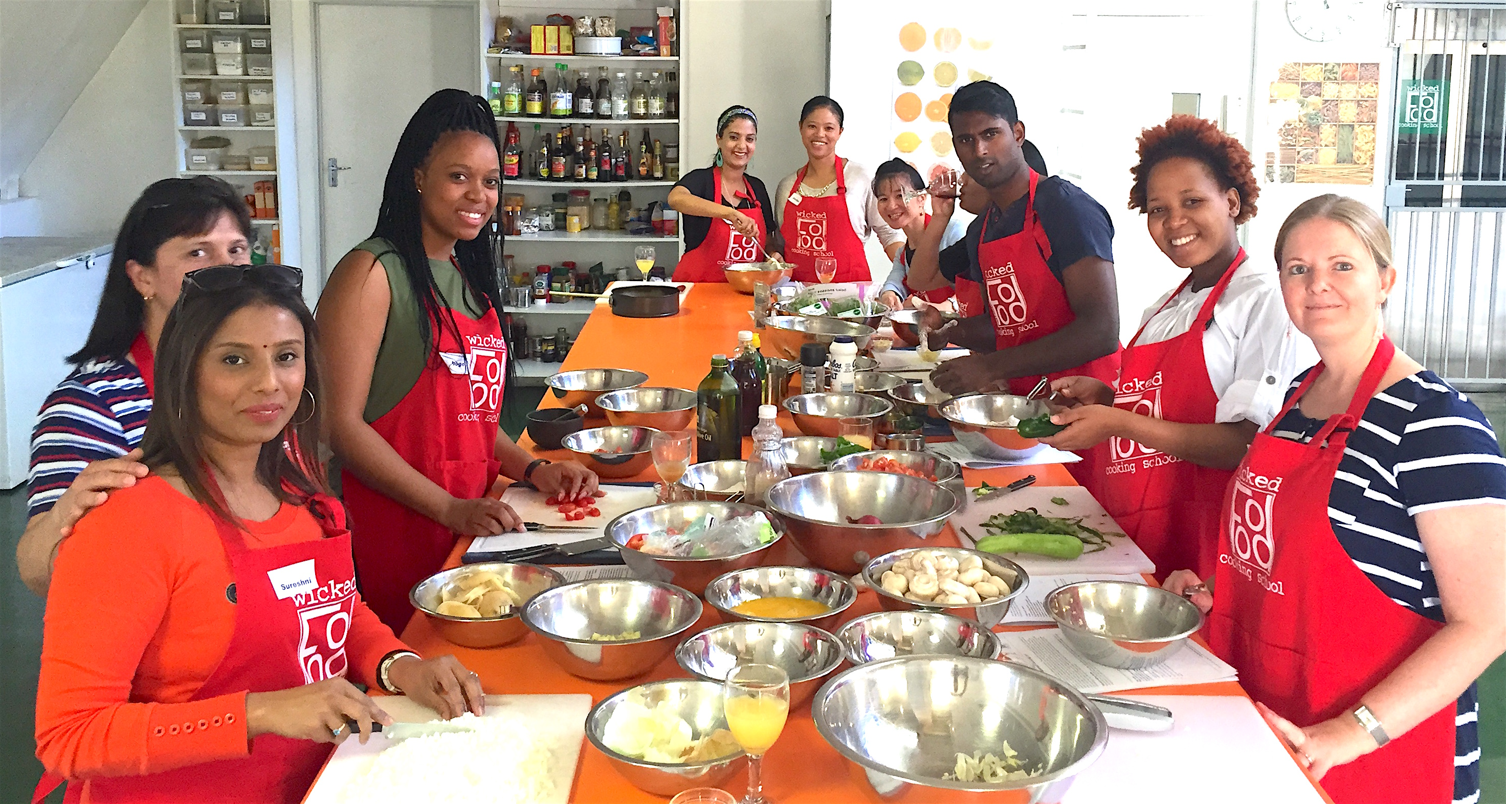 cooking classes  | team building