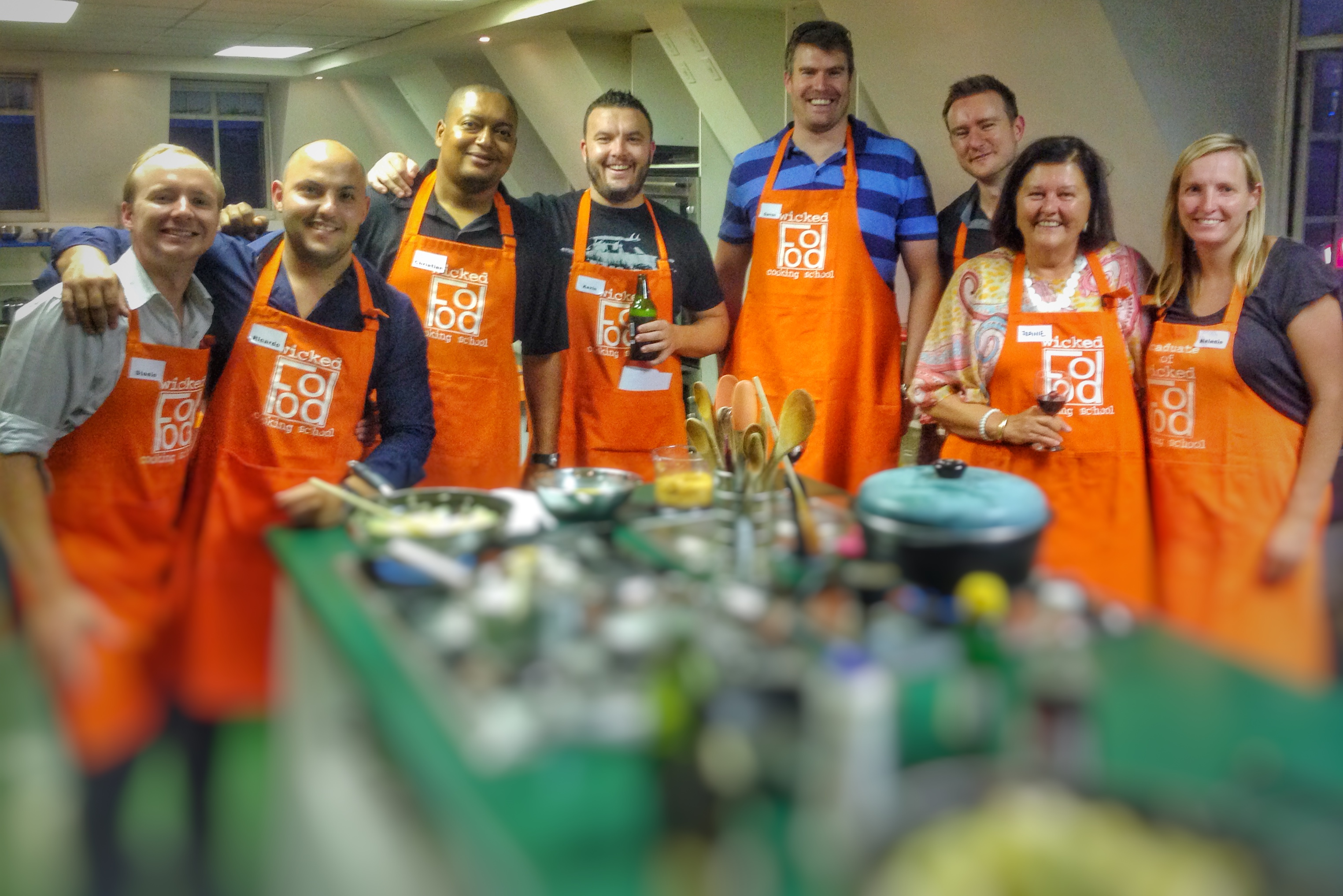 Team Building Cooking Classes In Johannesburg Giesecke Devrient