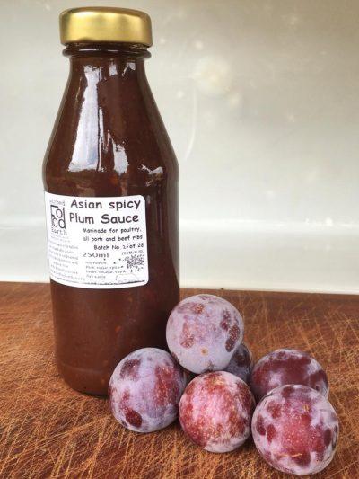 Spicy Asian plum sauce