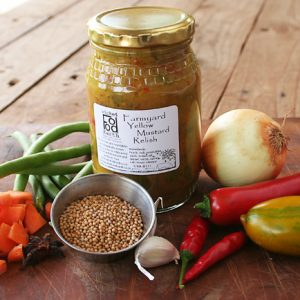 Farmyard mustard relish25s