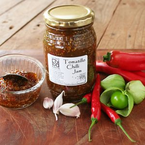 Tomatillo chilli Jam06s