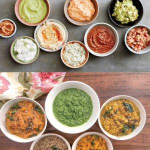 Chutneys, dips & relishes