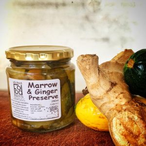 Marrow and Ginger preserve