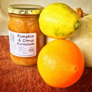 Pumpkin and citrus Marmalade